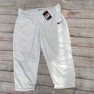 NWT White Nike Women's Softball Pants
